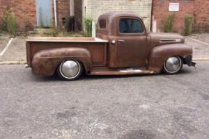 ford f1 pickup 1949 stepside 302 v8 patina hotrod rat rod