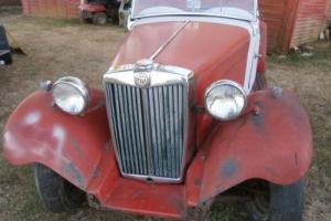 MGTD 1951 for full restoration Photo
