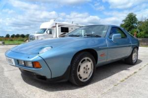 1986 PORSCHE 928 S2 MANUAL IRIS BLUE 81K V8 FSH SUPERB CONDITION 5 SPD MANUAL
