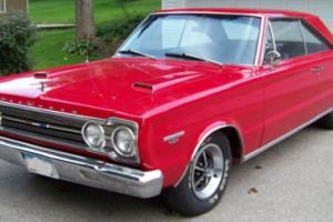 1967 Plymouth GTX GTX