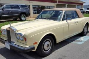 1980 Rolls-Royce Corniche CONVERTIBLE