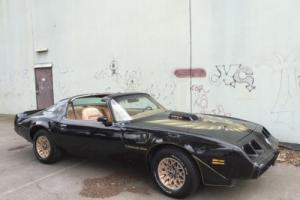 1979 Pontiac Firebird Trans AM 6 6LTR Auto Factory Black Smokey THE Bandit in VIC