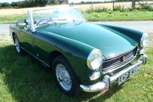 MG Midget, new 1380cc engine, low mileage, solid car with long MOT.