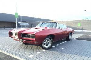 PONTIAC GTO 1968 RARE CONVERTIBLE