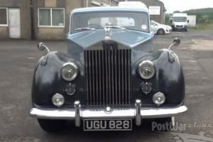 Rolls Royce silver wraith 1956