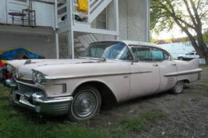 "1958 Cadillac DeVille  The Legendary Elvis Presley ""Pink Cadillac"""