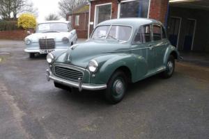 1956 Morris Minor Split Screen 4 Door ONE OWNER Lots Of history Collectors Car