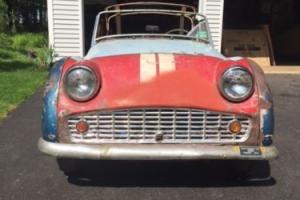 1962 Triumph TR3 A