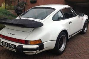 1986 PORSCHE 911 WHITE Supersports SSE coupe this is a real one not look alike