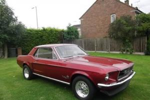 1968 Ford Mustang 302 / V8 Coupe, Not Your Average One Its A Bit Of An Animal