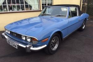 1974 Triumph Stag Mk 2 Manual/O/D, 59k mileshistory, New MOT, Tax exempt Hardtop Photo