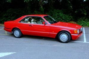 MERCEDES 420 SEC (1991) Signal Red