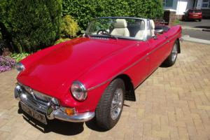 MGB Roadster 1970 1800 supercharged - restored with heritage shell