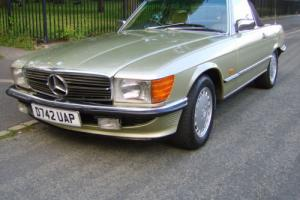 1986 MERCEDES 300 SL AUTO 3 owners.