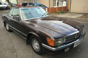 1982 MERCEDES-BENZ 380SL CONVERTIBLE RHD 124000 VERY GOOD CONDITION HPI CLEAR