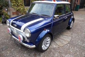 1997 ROVER MINI COOPER BLUE AUTOMATIC AIR-CON SPORTS PACK ALLOY WHEELS LEATHER