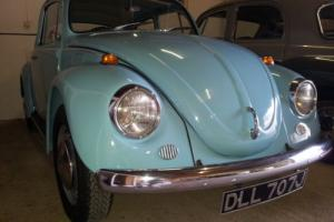 VOLKSWAGEN 1200cc VW Beetle, fully restored low mileage classic