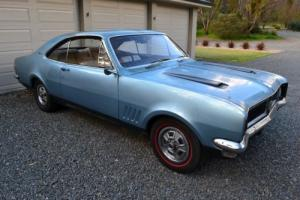 Holden HG GTS Monaro Electra Blue MET Sandalwood Black Trim in SA