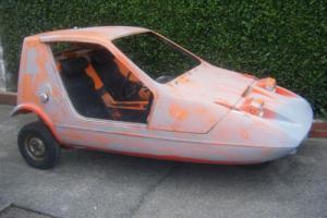 Bond Bug 700ES classic microcar 1973 Lreg. mid restoration Reliant