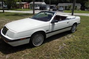 1989 Chrysler LeBaron Conv