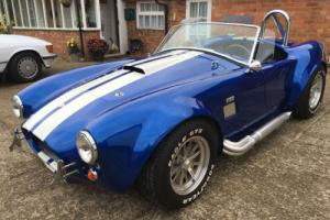 STUNNING FACTORY FIVE SHELBY COBRA,PROFESSIONAL BUILD,AUTHENTIC ROUND TUBE FRAME