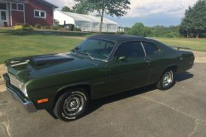 1973 Plymouth Duster Gold