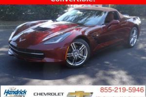 2016 Chevrolet Corvette 2dr Stingray Convertible w/2LT