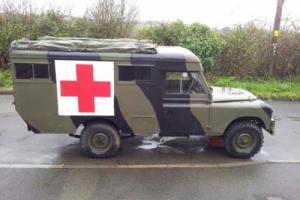 Landrover Series 2a Marshall Ambulance