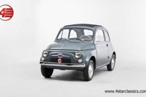 FOR SALE: Fiat 500 D 1965