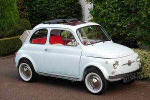 Fiat 500F RHD Classic (Original UK Supplied) / 1972 / Fully Expertly Restored!