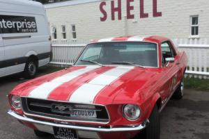 FORD MUSTANG 1967 V8 GT COUPE 4.7 cc 289 C CODE AUTO LHD
