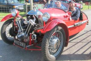 1933 Morgan Super Sports. JAP Engine Photo