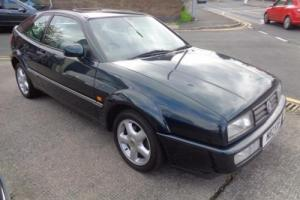 95 VOLKSWAGEN CORRADO 2.0 COUPE IN DRAGON GREEN,59,000 MLS FULL SERVICE HISTORY