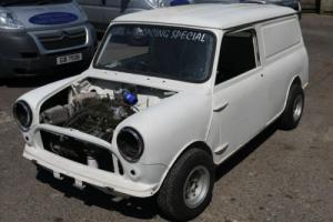 AUSTIN MINI VAN 1972 1380 TURBO CLASSIC PROJECT STORED RESTORATION CAR