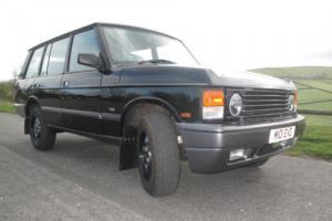 Range Rover Classic LSE soft dash
