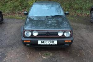 1989 VOLKSWAGEN GOLF GTI GREEN