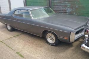 Rare 1972 Plymouth Gran Coupe Fury III Fresh American Import