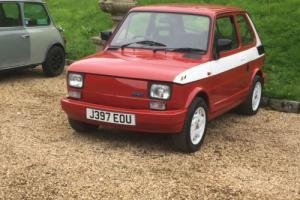 1991 FIAT 126 BIS RED