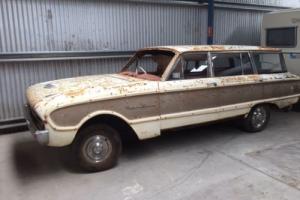 FORD FALCON XL WAGON 1962 - PROJECT CAR - RETRO
