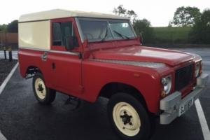 1966 Series 2A Land Rover