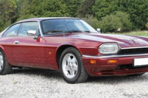 1994 JAGUAR XJS 4.0 AUTO IN STUNNING FLAMENCO RED WITH CONTRASTING DOESKIN HIDE Photo