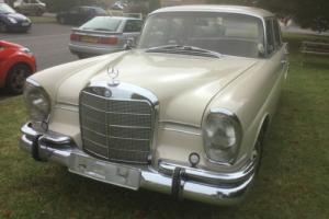 1966 Mercedes 230s Fintail- One South African farmer family owned since new.