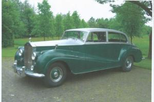 THE 1955 ROLS ROYCE EXPERIMENTAL SILVER WRAITH LWB SALOON 41EX Photo