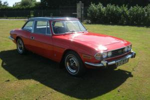 1972 TRIUMPH STAG. 2 OWNERS ONLY. STUNNING CAR.