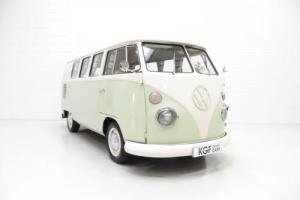A Delightful RHD Volkswagen Type 2 Split Screen Camper Beautifully Appointed.