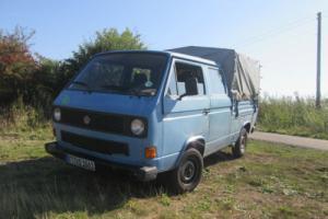 vw t25 crewcab pickup diesel