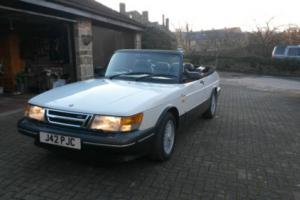 1991 SAAB 900 turbo S classic Convertible - potential show car
