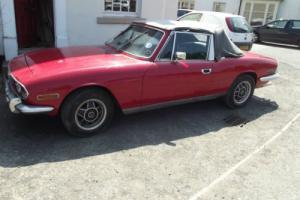 triumph stag 3lt manuel .OCA6M.1973.CHASSIS LD251860.solid car.