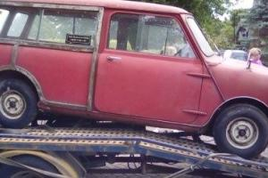 1965 Morris Mini Countryman Woody Traveller. TRUE GARAGE FIND. One family owned