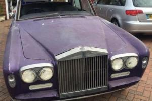 1972 Rolls Royce Silver Shadow Believed Ex Noddy Holder of Slade for Restoration
